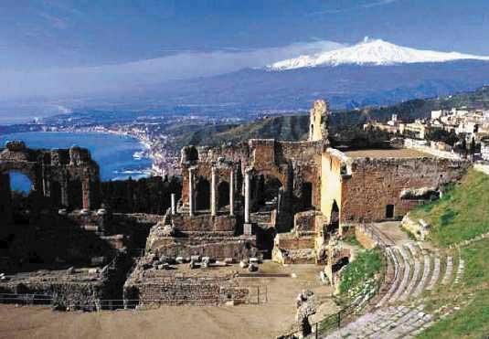 Taormina vista