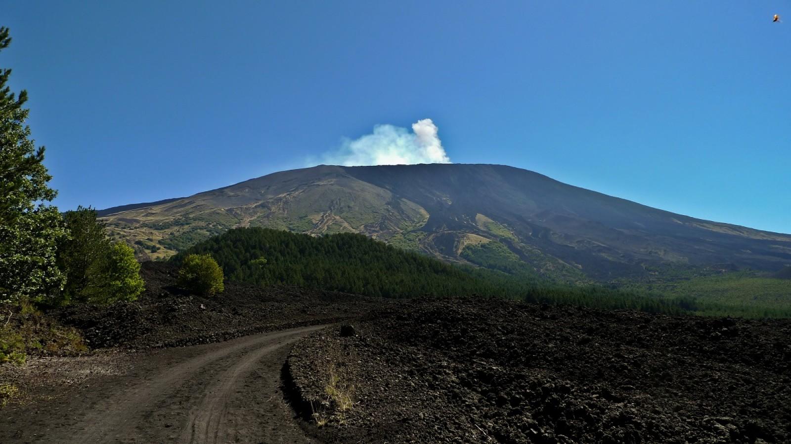 Il percorso alto montano dell'Etna