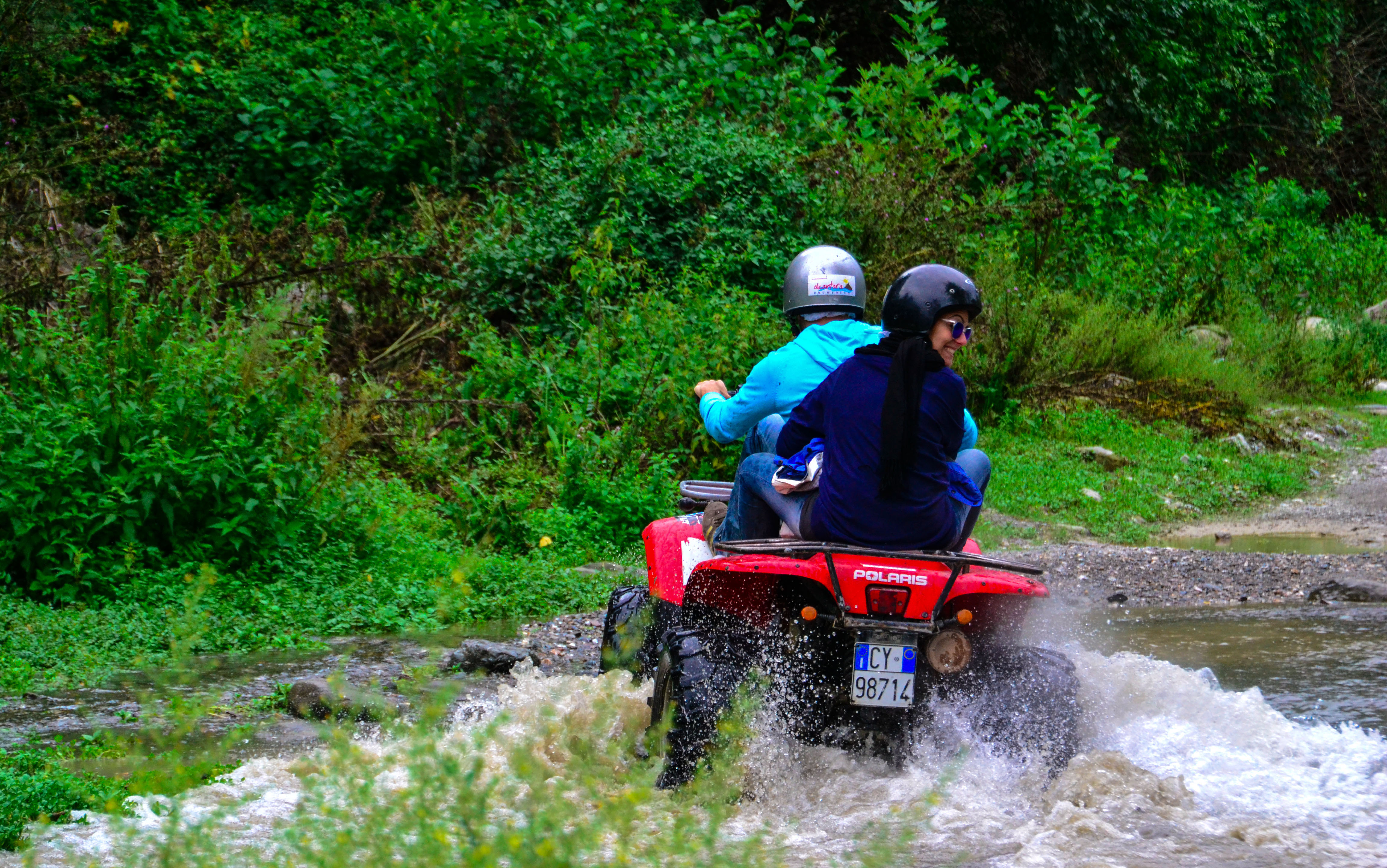 Tour in quad alle Gole dell'Alcantara
