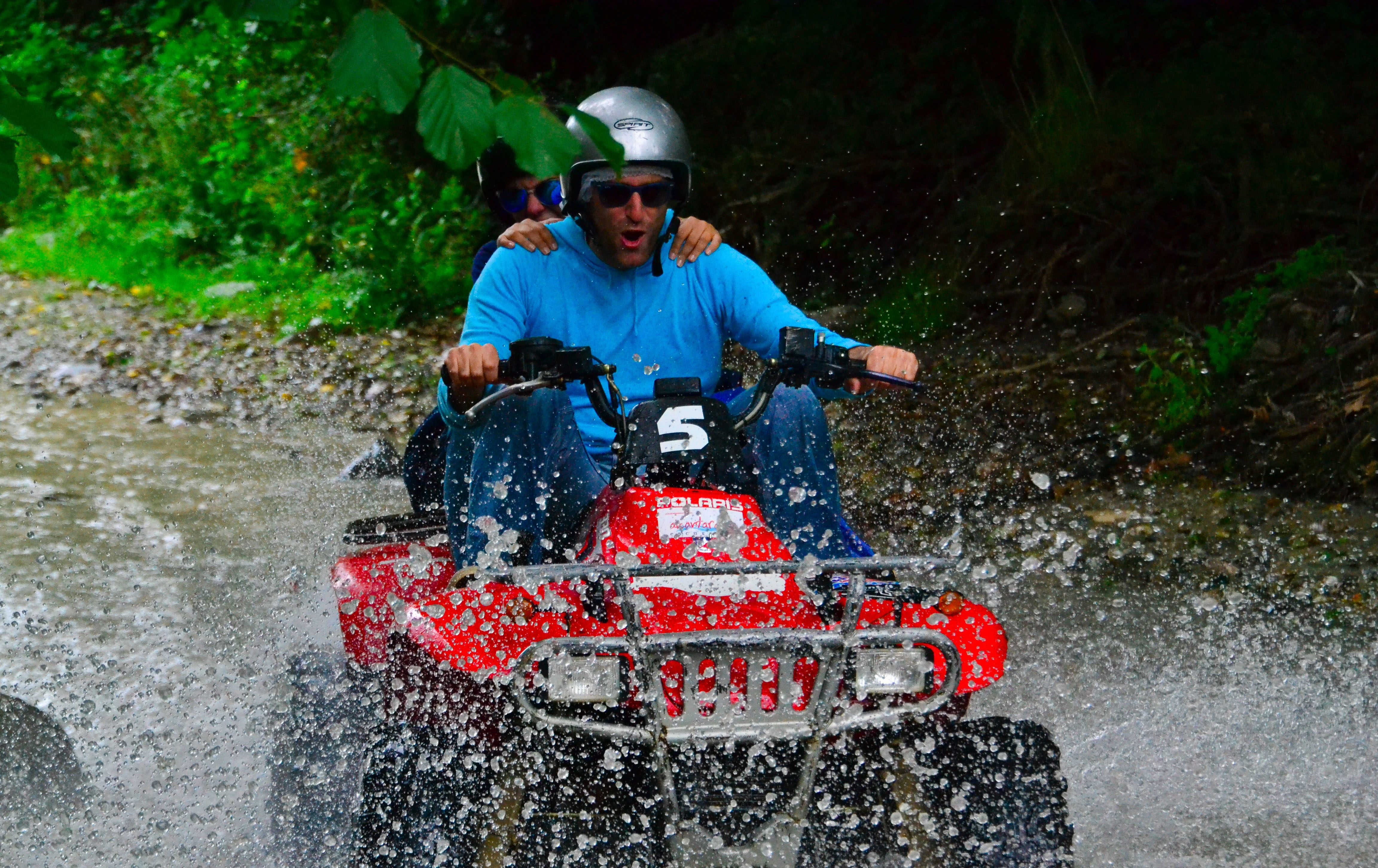 Gole dell'Alcantara escursioni: tour in quad