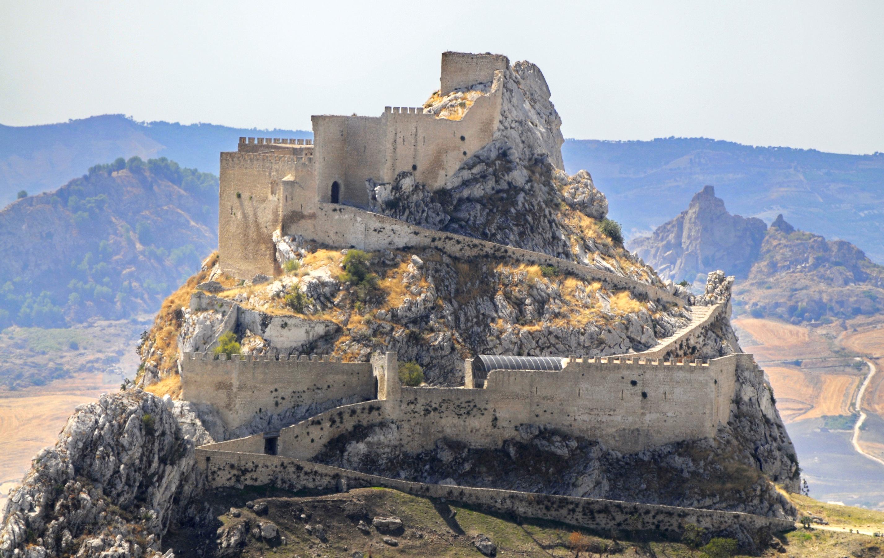 castelli in sicilia: castello di Mussomeli