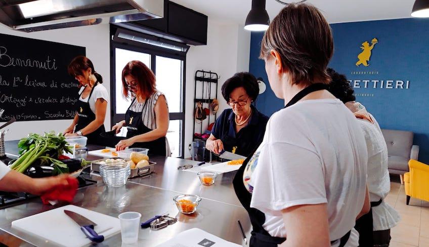 Un corso di cucina base a Catania