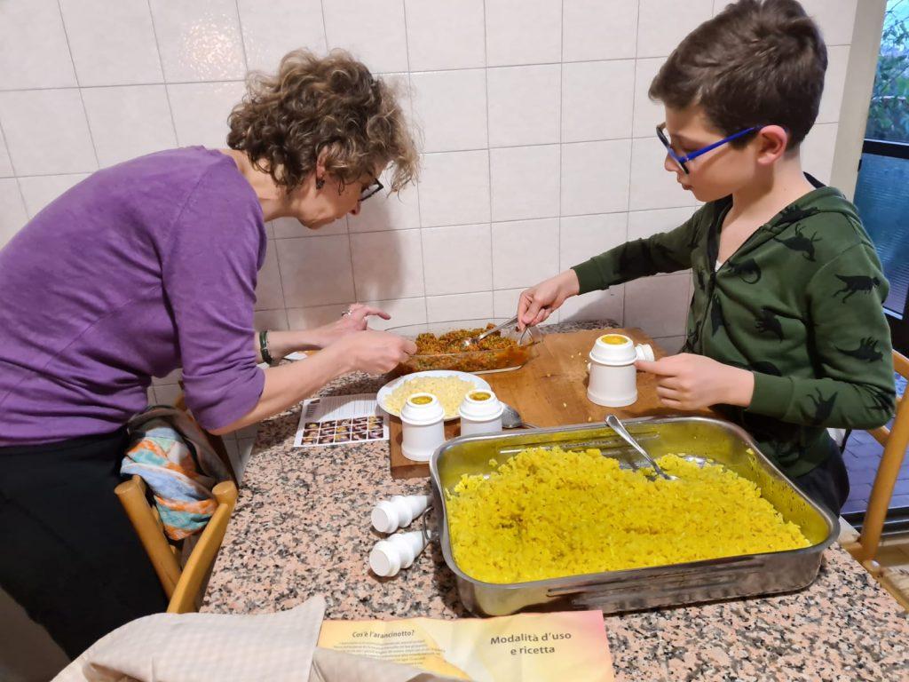 arancino preparato in casa