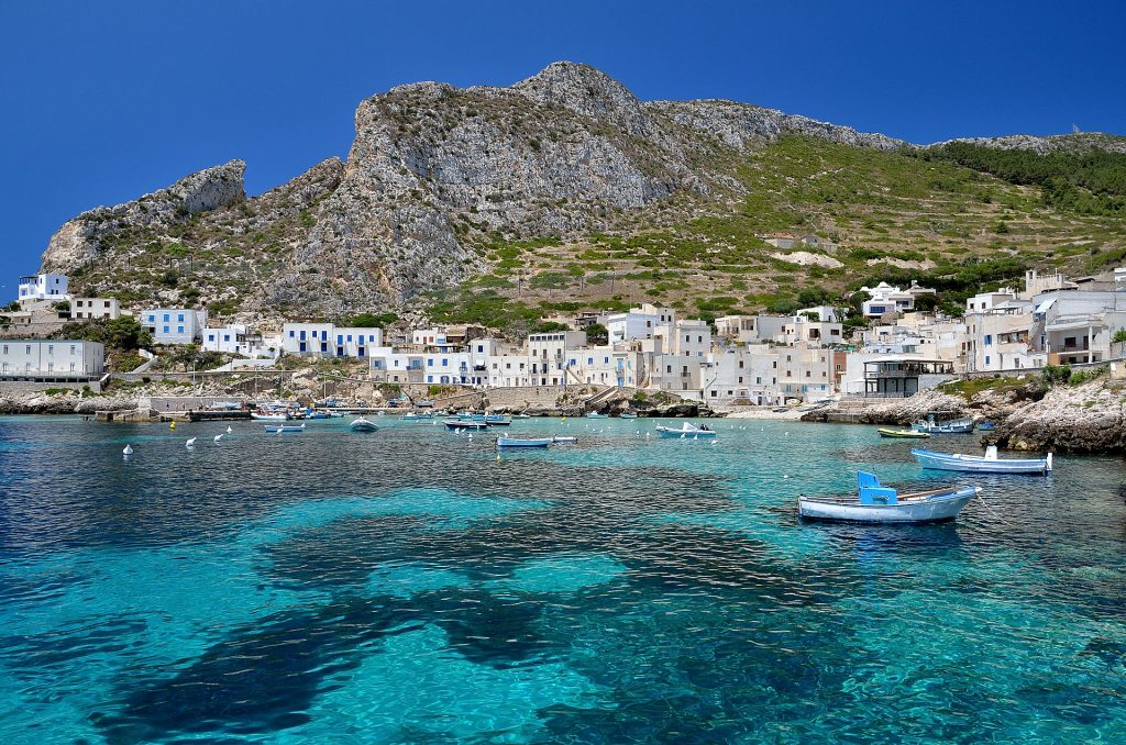 Best sailing boat holidays, Levanzo