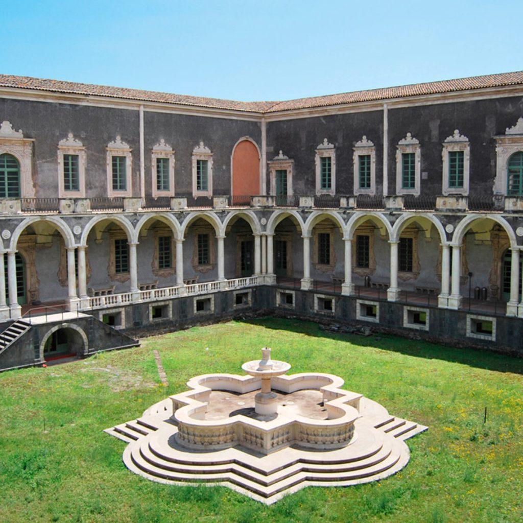 Monastero dei Benedettini di Catania: il giardino