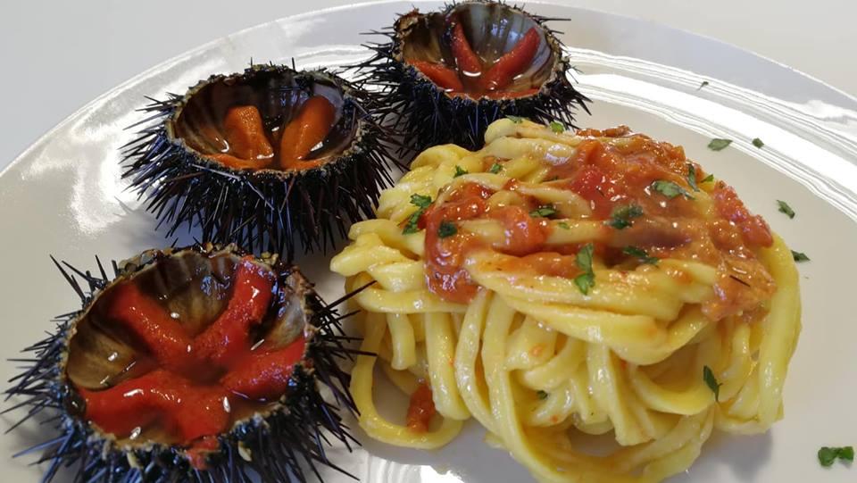 Sapori siciliani: pasta con i ricci