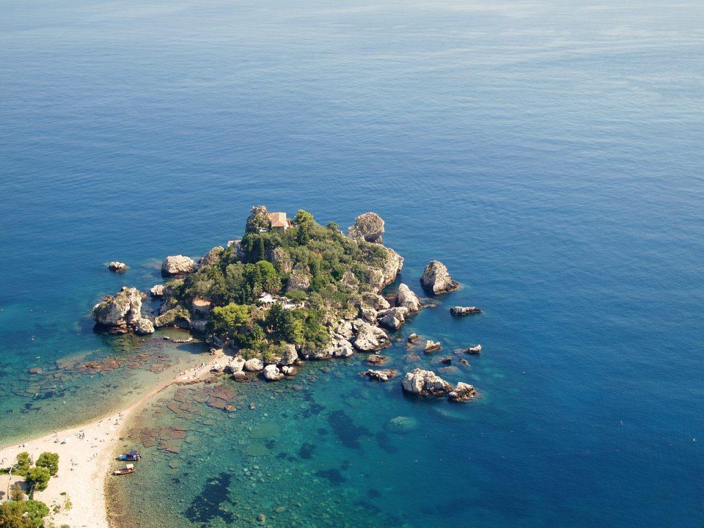 escursioni barca sicilia: isola bella