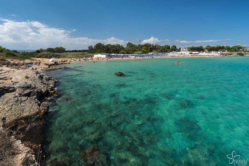 Siracusa mare: spiaggia dia renella
