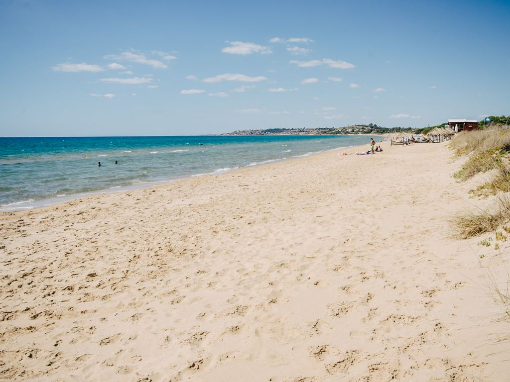 Spiagge bandiera blu Sicilia: Lido Fiori Bertolino