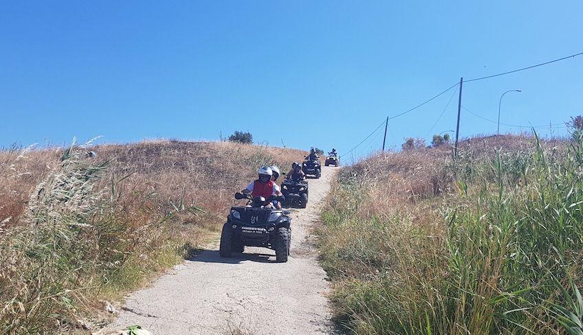 Noleggio quad agrigento - Escursioni Agrigento