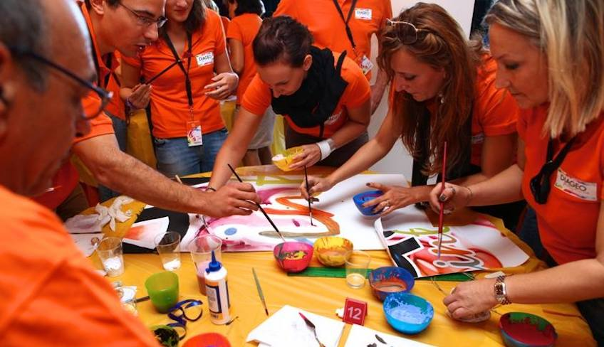 team building creativo-team building italia-team building aziendale