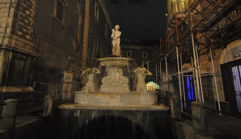 Fontana piazza Duomo