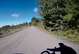 uscita in bici  percorsi natura itinerari sicilia Alcantara