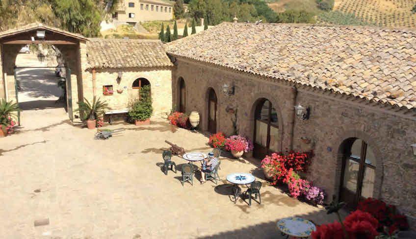 ristorante piazza armerina - baglio siciliano
