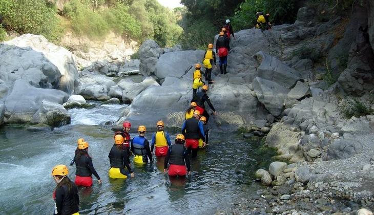 Rafting Sicilia - Rafting Alcantara
