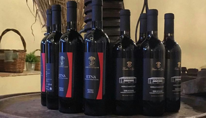 aziende vinicole catania - degustazione vini catania