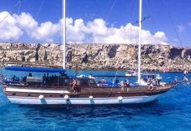 gita in barca Egadi-isole Egadi in barca