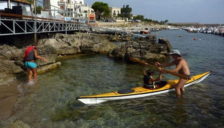 kayak sicilia - attrazioni isola delle femmine