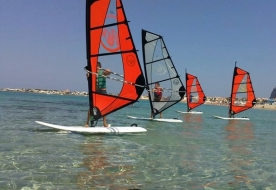corsi windsurf palermo - attrazioni isola delle femmine