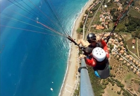 parapendio palermo - lancio in tandem sicilia