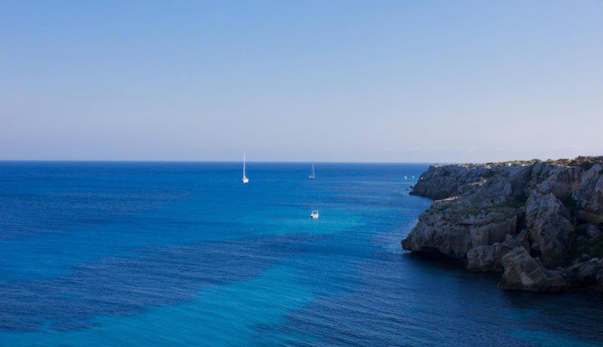 egadi in barca - crociera sicilia