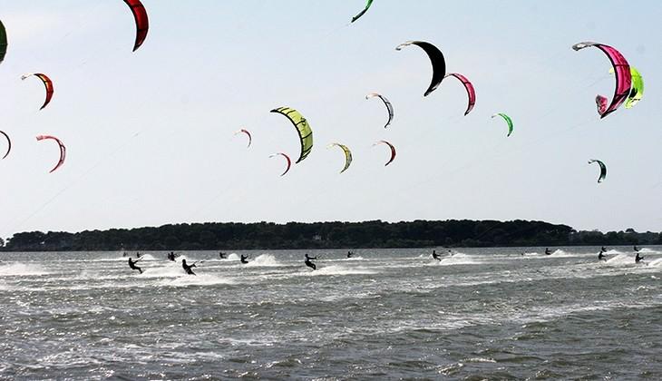 riserva dello stagnone - kitesurf trapani