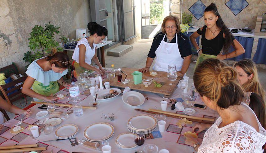 lezione di cucina  - ricette primi piatti siciliani
