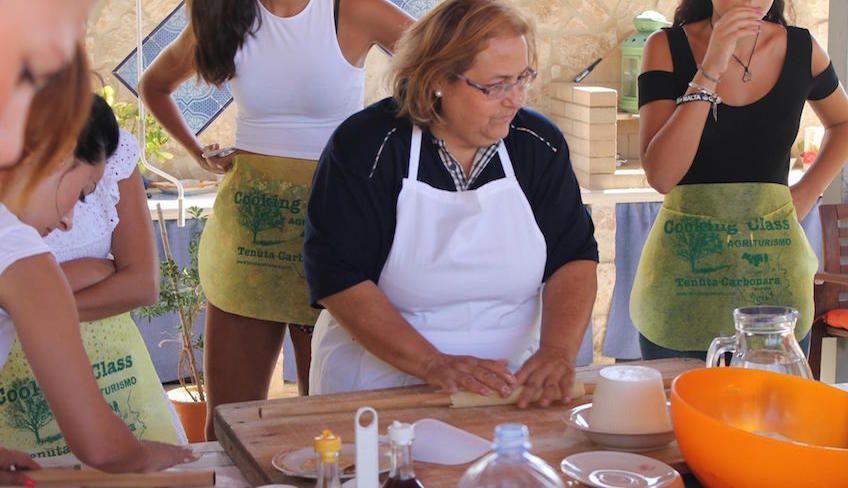 corsi di cucina ragusa - agriturismo a ragusa