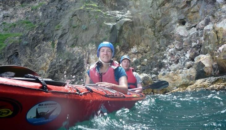 kayak sicilia - escursione eolie