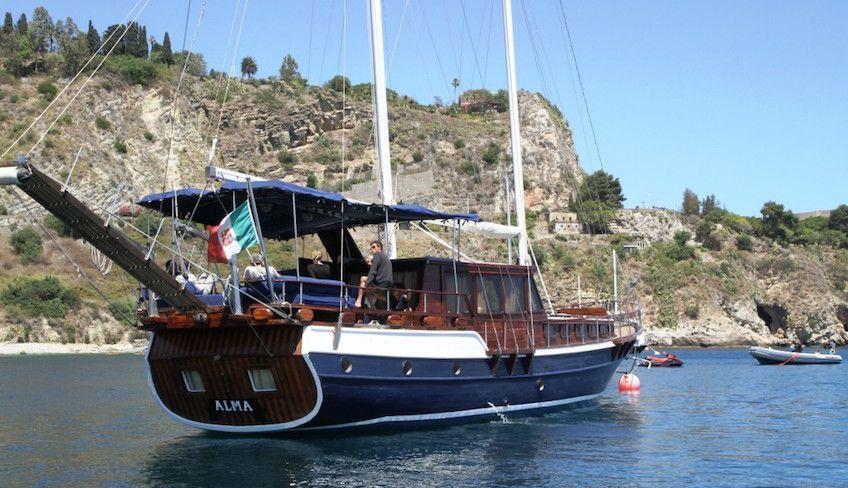 escursioni taormina - caicco sicilia