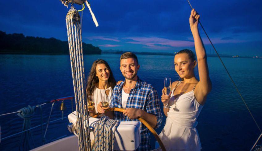 Cena in barca Palermo - cena romantica in barca palermo