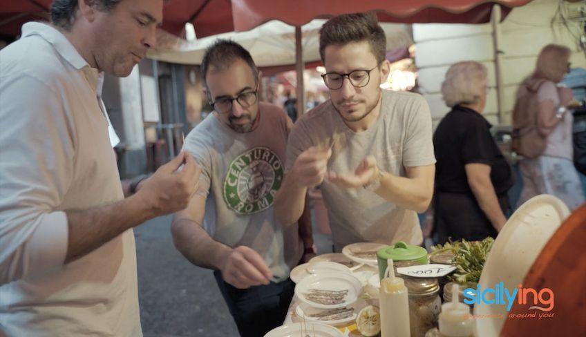 cosa vedere a catania - street food catania