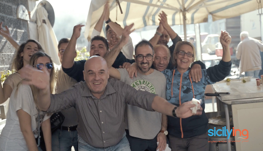 team building sicilia-street food catania-tour catania