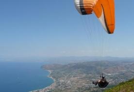 Parapendio tandem sicilia - volo parapendio taormina