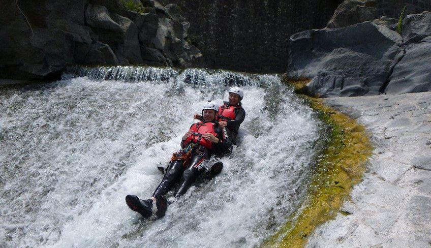 canyoning sicilia - canyoning fiume alcantara