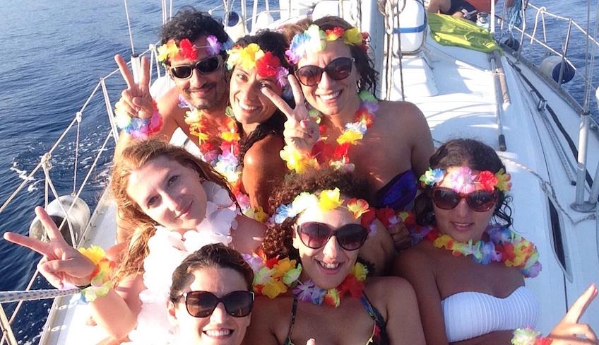 crociera barca a vela taormina-crociera barca a vela catania-vacanze in barca sicilia