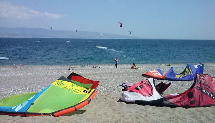 kitesurf sicilia - kitesurf messina