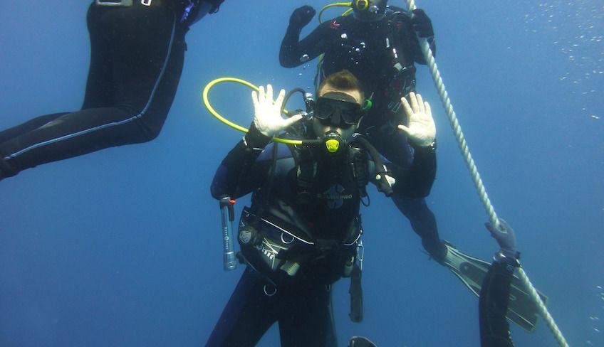 advanced open water diver - pad sicilia