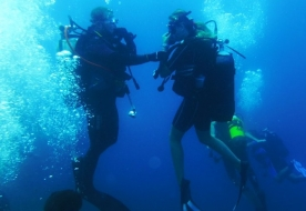 advanced open water diver - pad sicilia