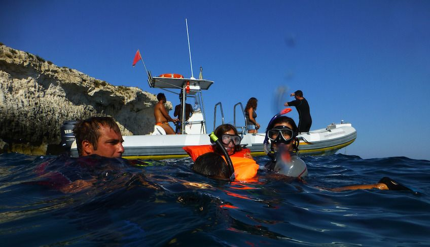 snorkeling siracusa - diving center siracusa