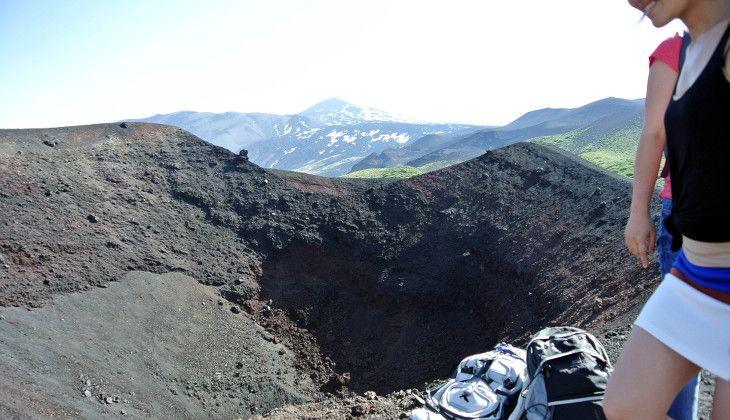 Visita sull'etna - trekking etna percorsi