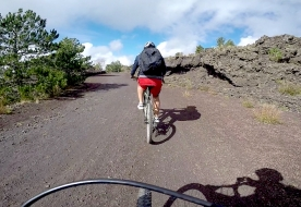 Bike Tour Etna ad alta quota: shuttle service incluso