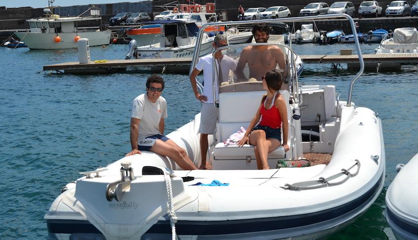 Giornata-in-gommone-lungo-la costa Catanese   Catania