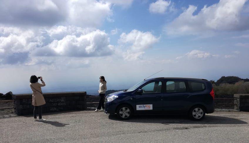 catania etna - visitare l'etna in auto