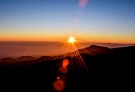 catania turismo - etna al tramonto