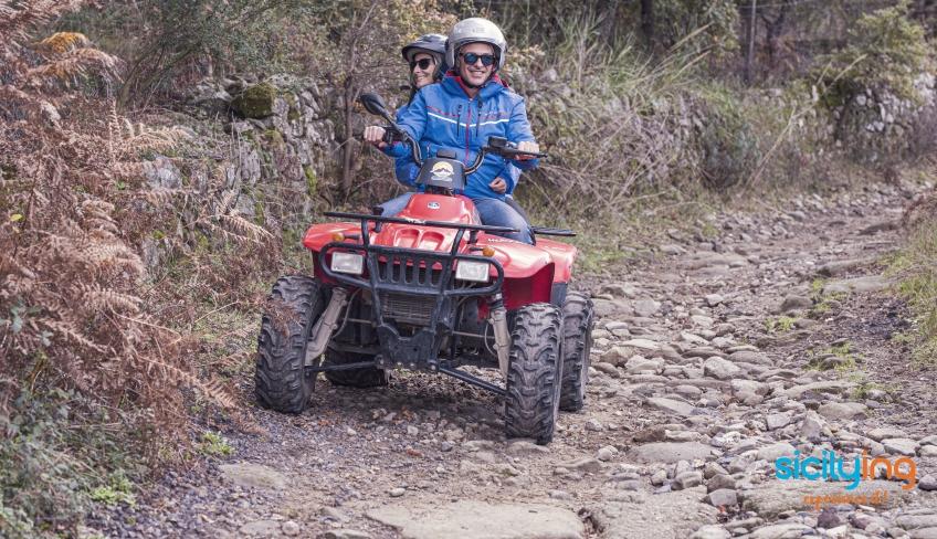 Fuori strada con quad