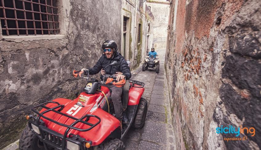 Tour in quad Alcantara